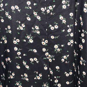 SHEIN Dresses - Black floral maxi dress